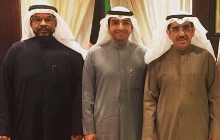 لجان المطلاع مع مدير عام المؤسسة العامة للرعاية السكنية المهندس بدر الوقيان