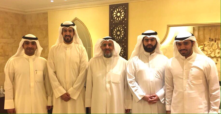 لجان المطلاع مع وزير الاشغال المهندس / عبدالرحمن المطوع